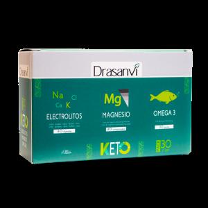 Drasanvi Pack Keto Electrolitos 60 Caps Magnesio 60 Comp