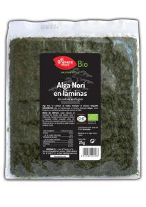 Granero Alga Nori En Laminas Bio 25g