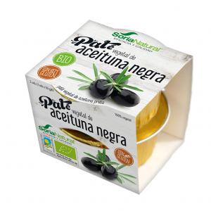 Alecosor Pate Vegetal Aceituna Negra Faja 2 Ud X 50g