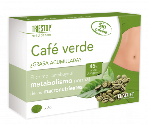 Eladiet Triestop Cafe Verde Sin Cafeina 60 Comp