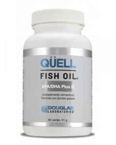 Douglas Qüell Aceite De Pescado Rico Epa-Dha Vit D3 60 Pe