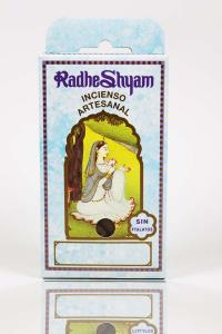 Naranja Cono Incienso Radhe Shyam