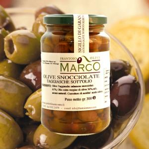 Olive snocciolate sott'olio 300 g