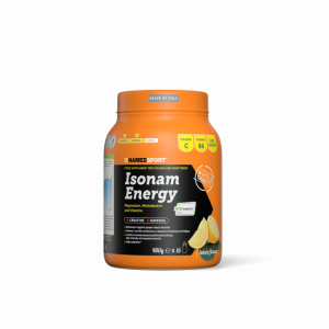 NAMEDSPORT ISONAM ENERGY LEMON - 480G