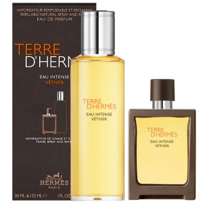 Terre d'Hermès Eau Intense Vétiver Spray 30ml Set 2 Parti 2020