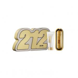 Carolina Herrera 212 Vip Woman Eau De Parfum Spray 80ml Set 2 Parti