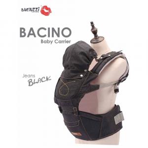 Marsupio Baby Carrier Baciuzzi Bacino Jeans black