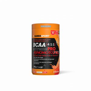NAMEDSPORT BCAA EXTREMEPRO AJINOMOTO PWD ORANGE - 345G