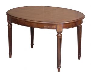 Table ovale Style Louis XVI avec allonges