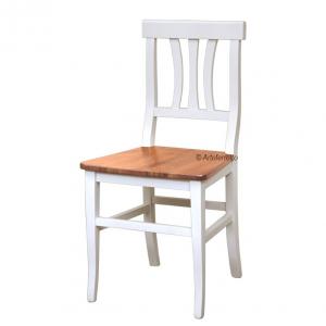 Zweifarbiger Stuhl