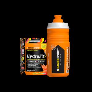 NAMEDSPORT HYDRAFIT 400G + SPORTBOTTLE HYDRA2PRO 2020