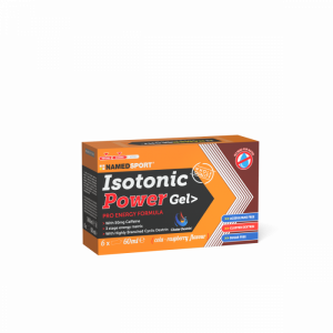 NAMEDSPORT BOX ISOTONIC POWER GEL COLA-RASPBERRY - 6GEL