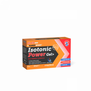 NAMEDSPORT BOX ISOTONIC POWER GEL ORANGE - 6GEL