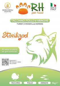 Tacchino, pollo e aringhe sterilized