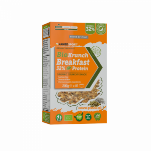 NAMEDSPORT BIOKRUNCH BREAKFAST 32% PROTEIN NATURAL GRANOLA MIX – 200G