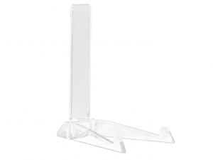 Espositore piatti plastica trasparente h23