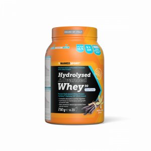 NAMEDSPORT HYDROLYSED ADVANCED WHEY VANILLA CREAM - 750G