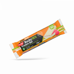 NAMEDSPORT ROCKY 36% PROTEIN BAR RASPBERRY CHEESECAKE - 50G