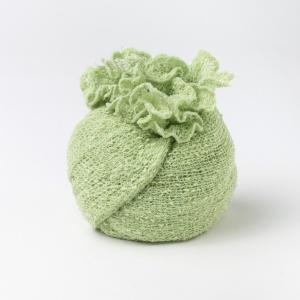 Ponchetto Verde Mela | abbigliamento etnico donna