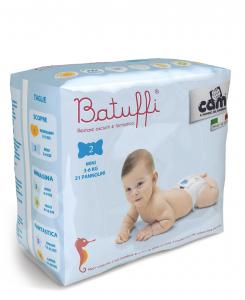 Pannolini 3-6kg linea Batuffi by Cam