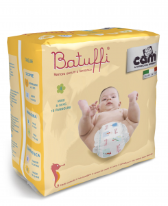 Pannolini 8-18kg linea Batuffi by Cam