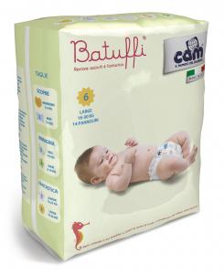Pannolini 16-30kg linea Batuffi by Cam