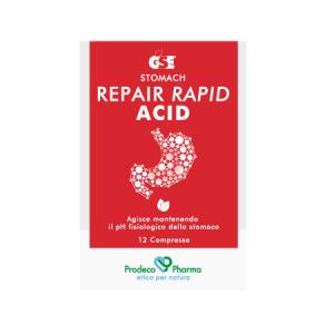 GSE Repair Rapid Acid - 12 compresse in pratico blister