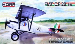 Fiat C.R.20 bis Italian Service (4x camo)