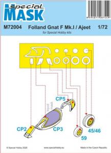 Folland Gnat/Ajeet Mask (SPECIAL HOB.)