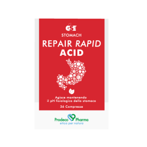 GSE Repair Rapid Acid -  36 compresse