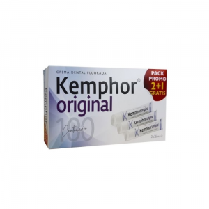 Kemphor Original Dentifricio 3x75ml