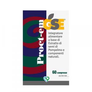 GSE Proct-em Integratore - pilloliera da 60 compresse
