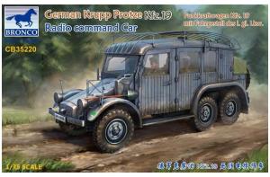 German Krupp Protze Kfz.19 Radio command Car