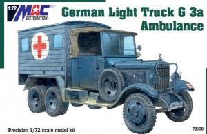 German Light Truck G 3a Ambulance