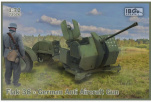 Flak 38 German Anti Aircraft Gun