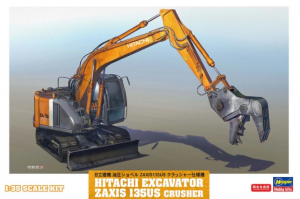 Hitachi Excavator Zaxis 135US Crusher