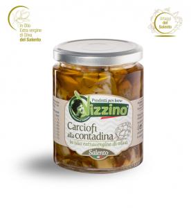 Carciofi alla contadina Salento - Vizzino