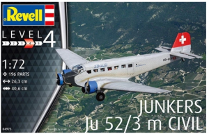 Junkers Ju-52/3m Civil