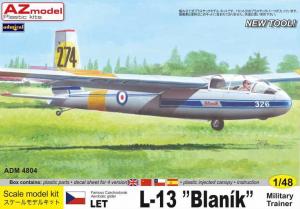 L-13 Blanik Military Trainer