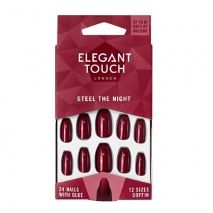 Elegant Touch Trend Steel The Night Red Squaletto