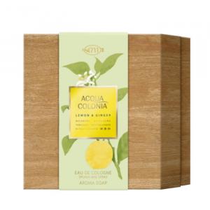 4711 Lemon & Ginger Eau De Cologne Spray 170ml Set 2 Parti 2020