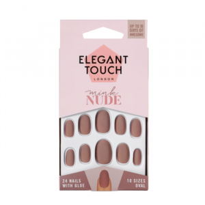 Elegant Touch Polish Nude Nails Mink