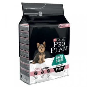 PURINA PRO PLAN PUPPY SMALL & MINI OPTIDERMA SALMONE 3KG