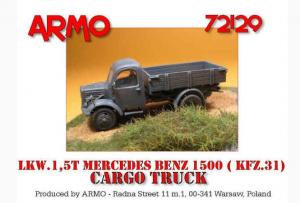 MERCEDES 1500 CARGO TRUCK
