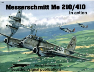 Messerschmitt Me210/410 in action