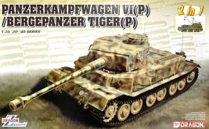 Panzerkampfwagen VI(P) / Bergepanzer Tiger(P) - (2 in 1)