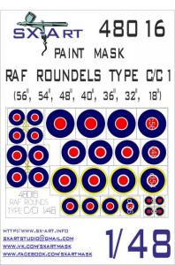 RAF Roundels Type C/C1
