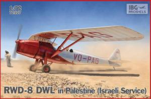 RWD-8 DWL in Palestine (Israeli Service)