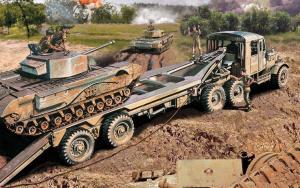 Scammel Tank Transporter