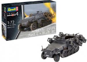Sd.Kfz. 251/1 Ausf. C + Wurfr. 40